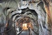 Inside Of Salt Mine