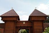 Nikolsky Gates Of Dmitrov Kremlin, Russia