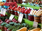 Baskets at Farmer's Market