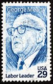 Postage Stamp Usa 1994 George Meany, Labor Leader
