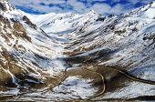 Himalayan valley, ladakh