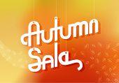 Autumn Sale Advertising Banner