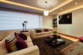 Diseño de interiores: grande moderno salón