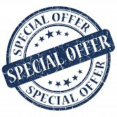 Special Offer Blue Stamp