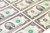 stock photo of two dollar bill  - Background of two - JPG