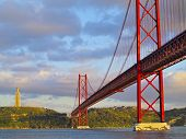 Bridge In Lisbon