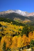 picture of rocky-mountains  - Scenic autumn landscape in Rocky mountains of Colorado - JPG