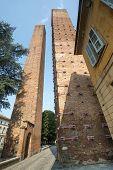 Pavia, Medieval Towers