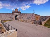 picture of mola  - Fortaleza de la Mola in Mao on Menorca Balearic Islands Spain - JPG