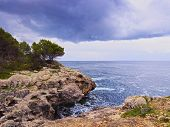foto of tomas  - Southern Coastline between Sant Tomas and Cala Galdana on Menorca Balearic Islands Spain - JPG