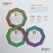 Octagons Infographic Elements
