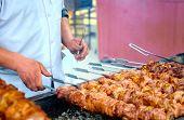 Shashlik Cooking