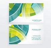 Business Card Abstract Background.
