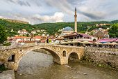 View At The Old Stone Bridge In Prizren