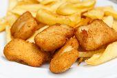 Golden Fried Chicken Nuggets