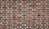 Red And Black Brick Wall Background