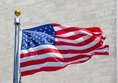 image of flag pole  - Close - JPG