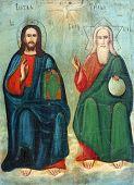 Old Orthodox Icon.