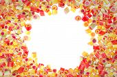 Fruit Candies Pattern For Background