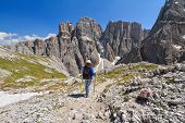 Dolomiti - Hiking In Sella Mount