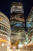 Canary Wharf And The Thomson Reuters Buildings