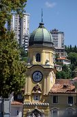 Rijeka,croatia Baroque City Tower
