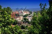 Panoramic View Of Rijeka And Tito's Square