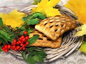 Fresh Baked And Fall Leaves