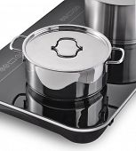 Modern kitchen, Induction cooker and pan