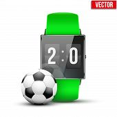 Design example sport wrist Smartwatch.