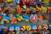 Animal lanterns in the mid-autumn festival in Vietnamese shop