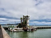 Pier 39 With Forbes Island In San Francisco