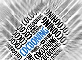 Marketing background - Cocooning - blur and focus