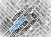 Marketing background - Automation - blur and focus