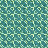Abstract Circle Vector Pattern