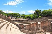 Ruins of Pompeii. Ancient amphitheater