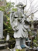 Statue of Tengu, a Japanese Demon