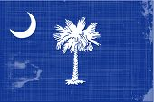 picture of south american flag  - The flag of the state of South Carolina - JPG