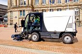 Street sweeper, Birmingham.