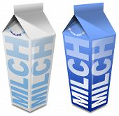 Milch Carton - Milk Carton