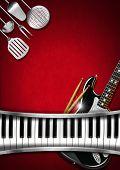 Music And Food - Menu Design