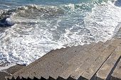 picture of upstairs  - Upstairs and Beautiful sea of Crete Greece - JPG