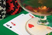 picture of poker hand  - The best starting hand in poker  - JPG