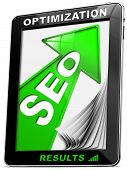 Seo Tablet Pc Green Arrow