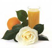 Orange juice for breakfast.