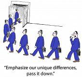 Businessmen are Alike