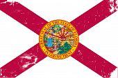 Florida Flag Grunge