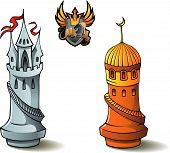 pic of saracen  - Chess pieces series - JPG