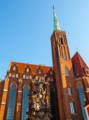 Church of the Holy Cross in Wroclaw