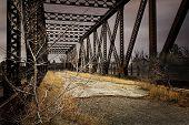Old Abandoned Railroad Bridge